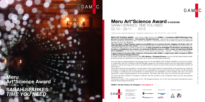 MERU ArtScience flyer